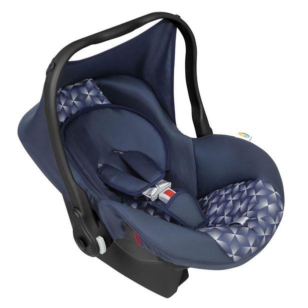 Oferta de Bebê Conforto Tutty Baby Nino Até 13 Kg Com Capota Azul New por R$256,95