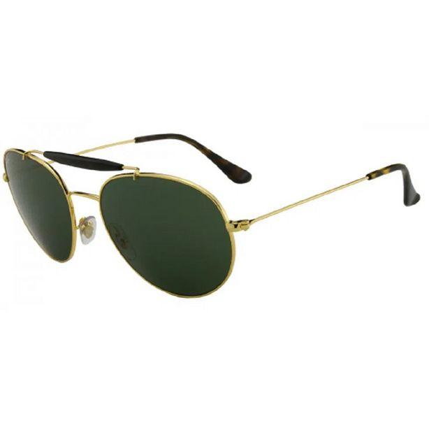 Oferta de Óculos Solar Ray-ban - Rb3540 001- G15/56 por R$469