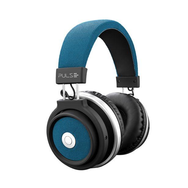 Oferta de Fone de Ouvido Bluetooth Large Azul Pulse - PH232 por R$188,9