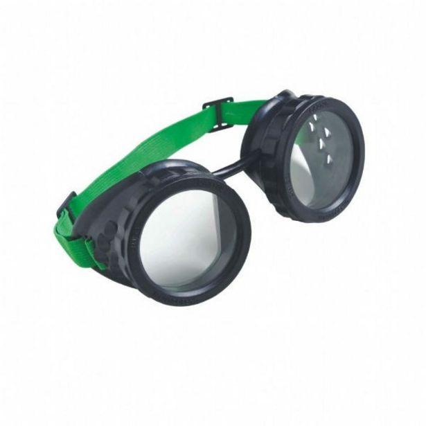 Oferta de Óculos De Proteção Mod. Macariqueiro Redondo Carbografite por R$14,66