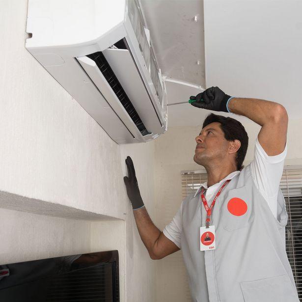 Oferta de Instalação Ar Condicionado (16 à 30mil BTU's) por R$899
