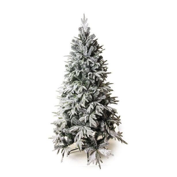 Oferta de Árvore De Natal Rosário Nevada Pé Ferro 210Cm 1041 Hastes por R$2119,9