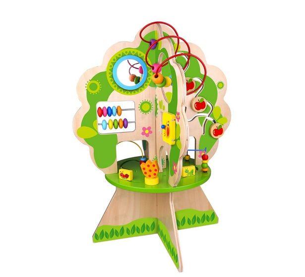 Oferta de Brinquedo Educativo Arvore Pedagogica Em Madeira 24m+ por R$763,9
