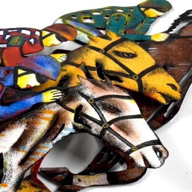 Oferta de Painel De Cavalos P/ Parede por R$267,9