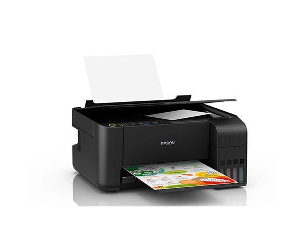 Oferta de Impressora Multifuncional Epson Eco Tank Color Wifi L3150 por R$1269