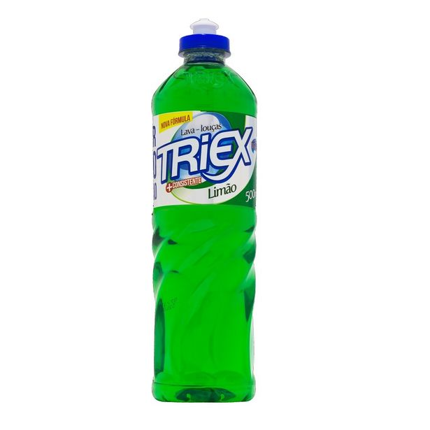 Oferta de Detergente Lava Louças Limão Limpeza Geral Com 500ml Triex por R$3,9
