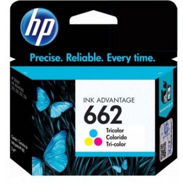 Oferta de Cartucho Impressora Hp Deskjet Ink Advantage 662 Cz104ab Colorido 2ml por R$59,99