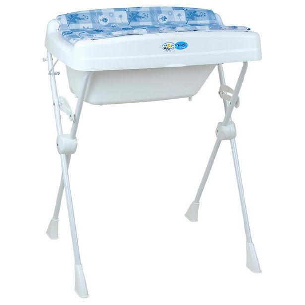 Oferta de Banheira Millenia Peixinhos Azul - Burigotto por R$309,88