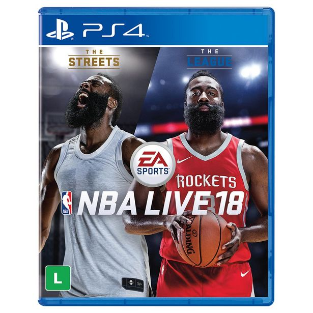 Oferta de Jogo NBA Live 18 para Playstation 4 (PS4) - EA Sports por R$114,9