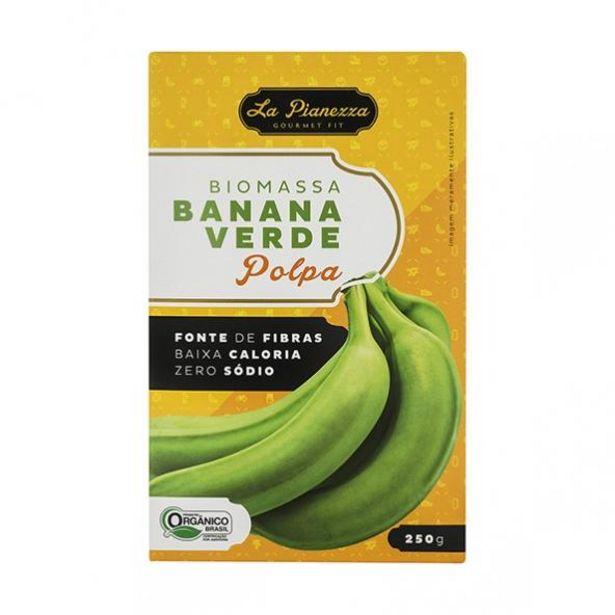 Oferta de Biomassa de Banana Verde Polpa por R$16,9