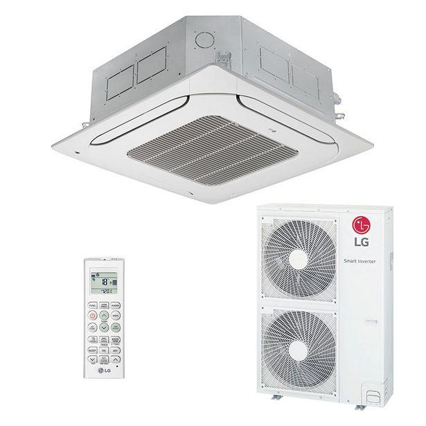 Oferta de Ar Condicionado Split Cassete Inverter Lg 50000 Btus Quente/frio 220V Monofasico ATNW60GMLP0.ANWZBRZZ por R$12599