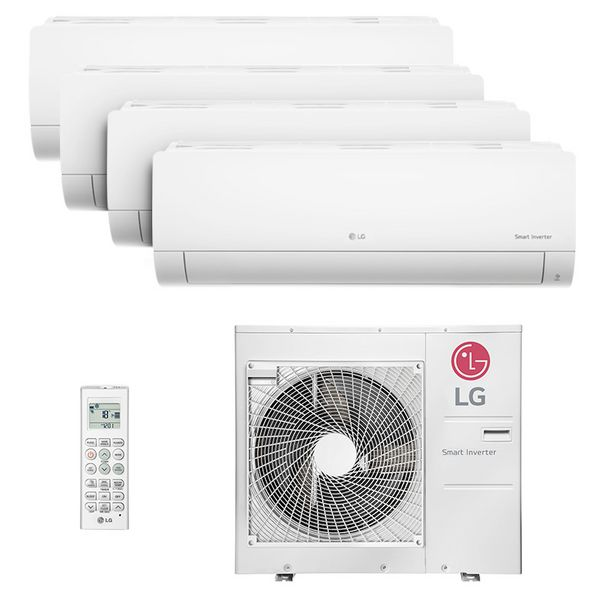Oferta de Ar Condicionado Multi Quadri Split Hw Inverter Lg 3x9000 1x18000 Btus Quente/frio Monofasico A4UW30GFA2.AWGZBRZ por R$12599