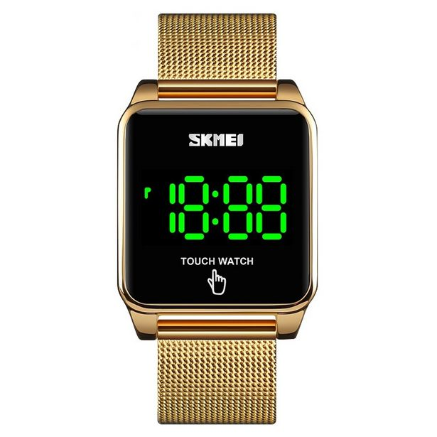 Oferta de Relógio Unissex Skmei Digital 1532 - Dourado por R$148,19