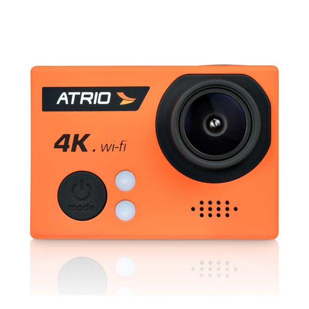 Oferta de Câmera de Ação Atrio Fullsport Cam 4K, 16.0 Mega Pixels, Tela de LCD 2.0, Lente Angular de 160º, Zoom Digital, Case A Prova de água - DC185 por R$599,9