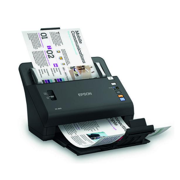 Oferta de Scanner Epson Workforce DS 510 Preto por R$4699,9