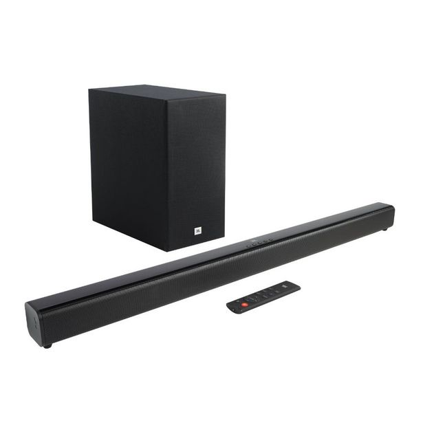 Oferta de JBL Cinema SB160 2.1 Canais Subwoofer Sem Fio Dolby Digital Bluetooth HDMI ARC por R$1799
