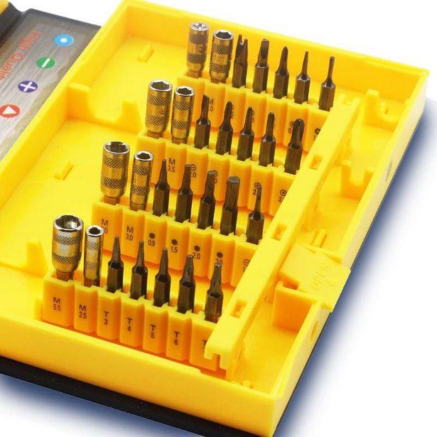 Oferta de Kit de Ferramentas Para Reparo de Dispositivos - GA163 por R$106,9