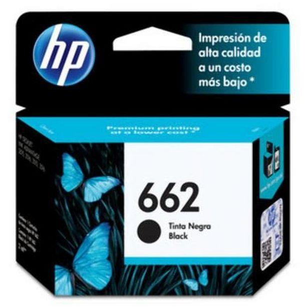 Oferta de Cartucho Impressora Hp Deskjet Ink Advantage 662 Cz103ab Preto 2ml por R$49,84