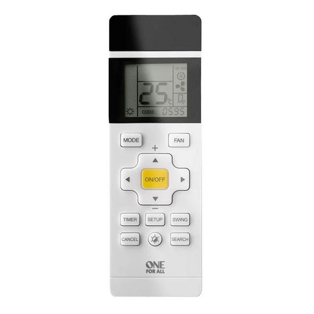Oferta de Controle Remoto Universal Para Ar Condicionado Com Visor LCD Retroiluminado por R$104,9
