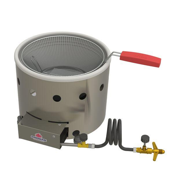 Oferta de Fritadeira A Gás Prógas PR-310G G2 2 Litros Aço Inox por R$188,24