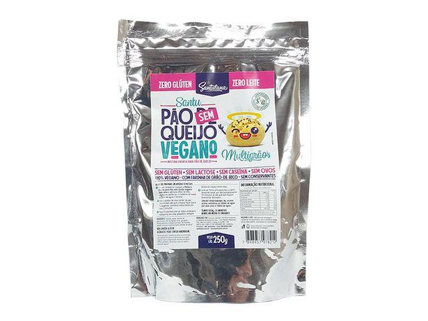 Oferta de Kit 6 Pão Queijo Vegano Sem Glúten Multigrãos Santulana 250g por R$66,9