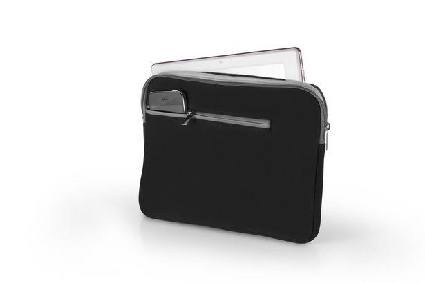 Oferta de Case Neoprene Para Notebook Até 15,6 Pol. Preto E Cinza Multilaser - BO400 BO400 por R$61,9