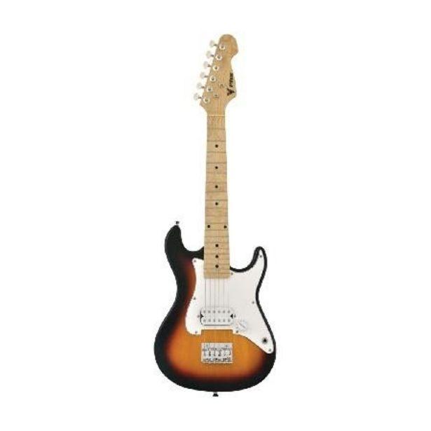 Oferta de Guitarra Infantil Strato JR IST-H-3TS Sunburst por R$501,18