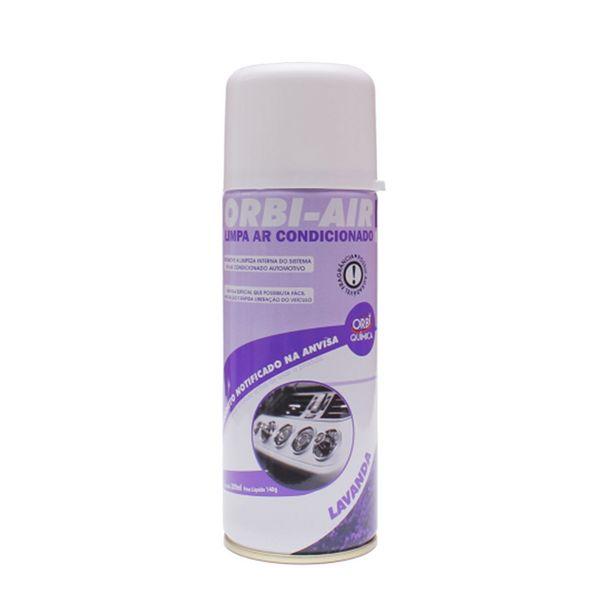 Oferta de Orbi Air Limpa Ar Condicionado Lavanda 200ml Orbi Química por R$13,74