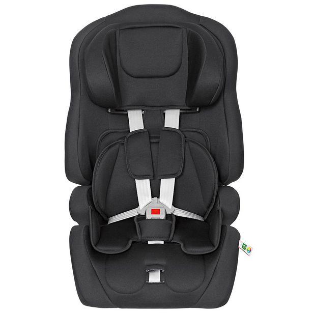 Oferta de Cadeira Para Auto 09 A 36Kg Ninna Com Encosto Reclinável Tutti Baby Preta por R$419,9