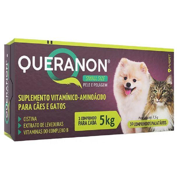 Oferta de Queranon 5kg Small Size 30 Comprimidos - Avert por R$39,99