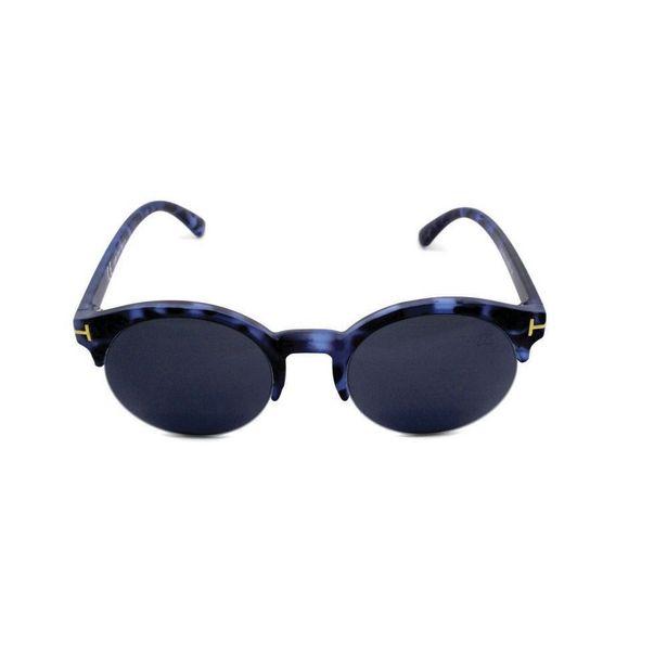 Oferta de Óculos de Sol Khatto Round Clubmaster por R$99,9