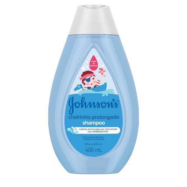 Oferta de Shampoo Johnson's Baby Cheirinho Prolongado 400ml por R$14,65