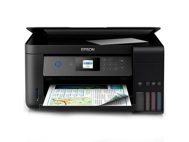 Oferta de Impressora Multifuncional Epson Eco Tank Color Wifi L4160 Duplex por R$1639