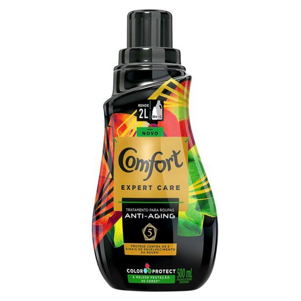 Oferta de Amaciante Concentrado Comfort Expert Care Color Protect 500ml - Amaciante Comfort por R$10,85