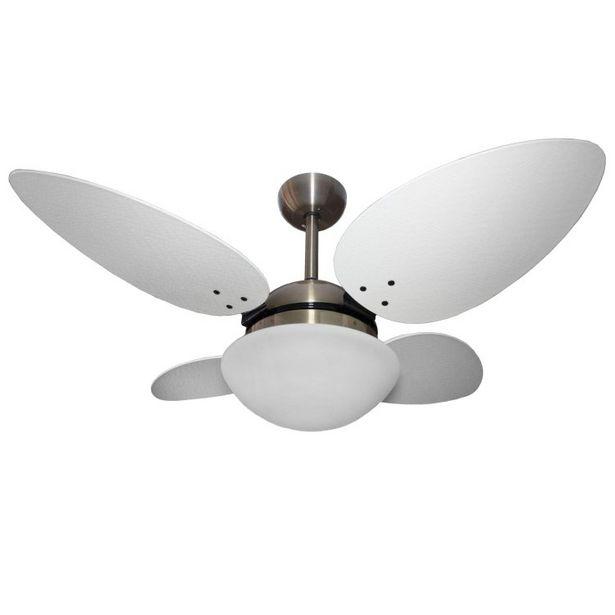 Oferta de Ventilador de Teto 4 Pás Volare Bronze VR42 Pétalo Palmae Bronze/Branco por R$1209,9