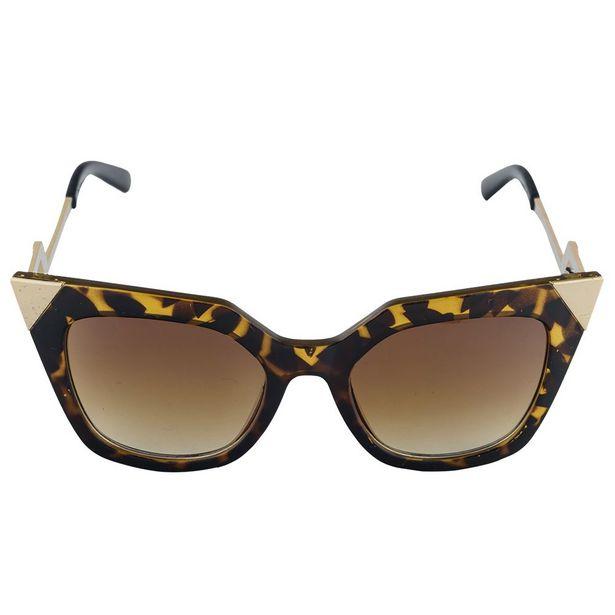 Oferta de Khatto Cat Great Tartaruga Com Lente Translucida Marrom por R$99,9