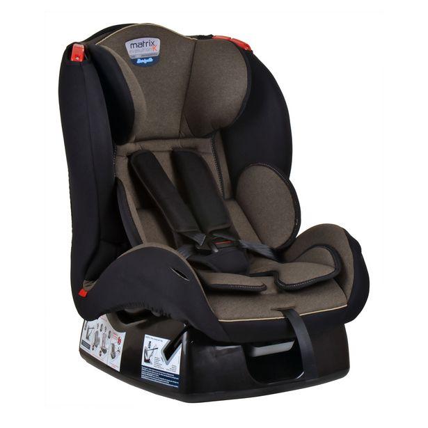 Oferta de Cadeira Para Auto Burigotto (até 25kg) Matrix Evolution K - Mesclado Bege por R$599,88