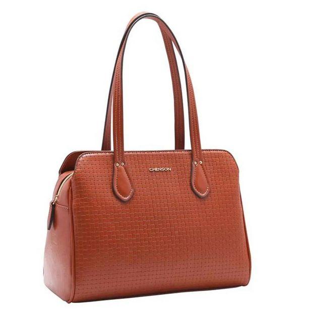 Oferta de Bolsa Feminina Chenson Mini Tressê de Ombro 3483129 por R$164,66