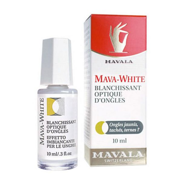 Oferta de Mava-White Mavala - Clareador Ótico Para As Unhas 10ml por R$56