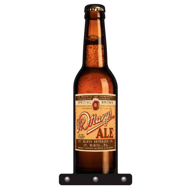 Oferta de Porta Chaves Garrafa de Cerveja Marys - Cia Laser por R$9,9