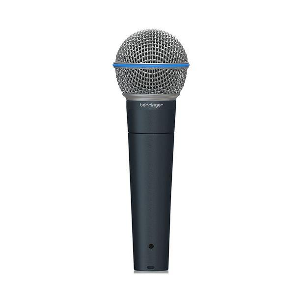 Oferta de Microfone Behringer Super Cardióide BA 85A - AC2219 por R$469,9