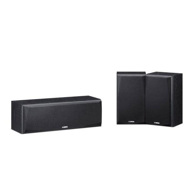 Oferta de Kit de Caixas Acústicas Yamaha NS-P51 2 Surrounds e 1 Central Para Sistemas de Home Theater 150W por R$2099