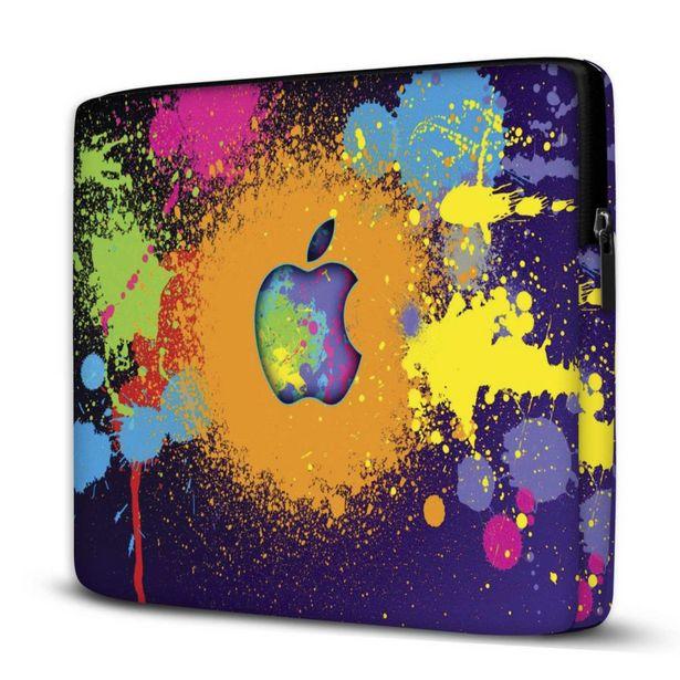 Oferta de Capa Para Notebook Colorido 15.6 E 17 Polegadas Com Bolso por R$77,94