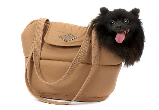 Oferta de Bolsa Para Cachorro Pet Londres Médio - M - Bege - Bichinho Chic por R$133,02