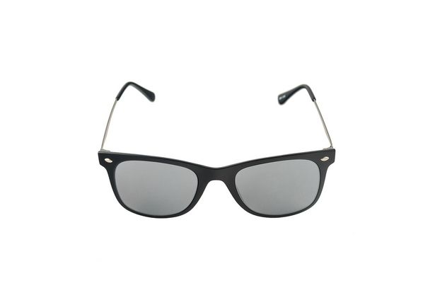 Oferta de Óculos de Sol Khatto Wayfair Direct Preto Lente Prata por R$89,9