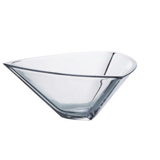 Oferta de Saladeira Triangle 30cm Bohemia 6k715/305 por R$197,9
