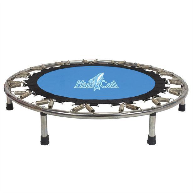 Oferta de Trampolim Polimet Hidro Coil 32 Molas Azul por R$659,9