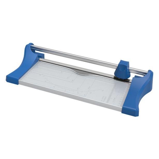 Oferta de Refiladora De Papel Aurora AS410 320mm 10 Folhas Azul E Cinza por R$129,9