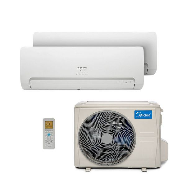 Oferta de Ar Condicionado Multi Bi Split Hw Inverter Springer Midea 1X9000 1X12000 Btus Quente/Frio 220V 1F 38MBBA18M5 por R$5899