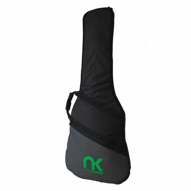 Oferta de Bag para Guitarra Sólida Premium NewKeepers Preto por R$144,9
